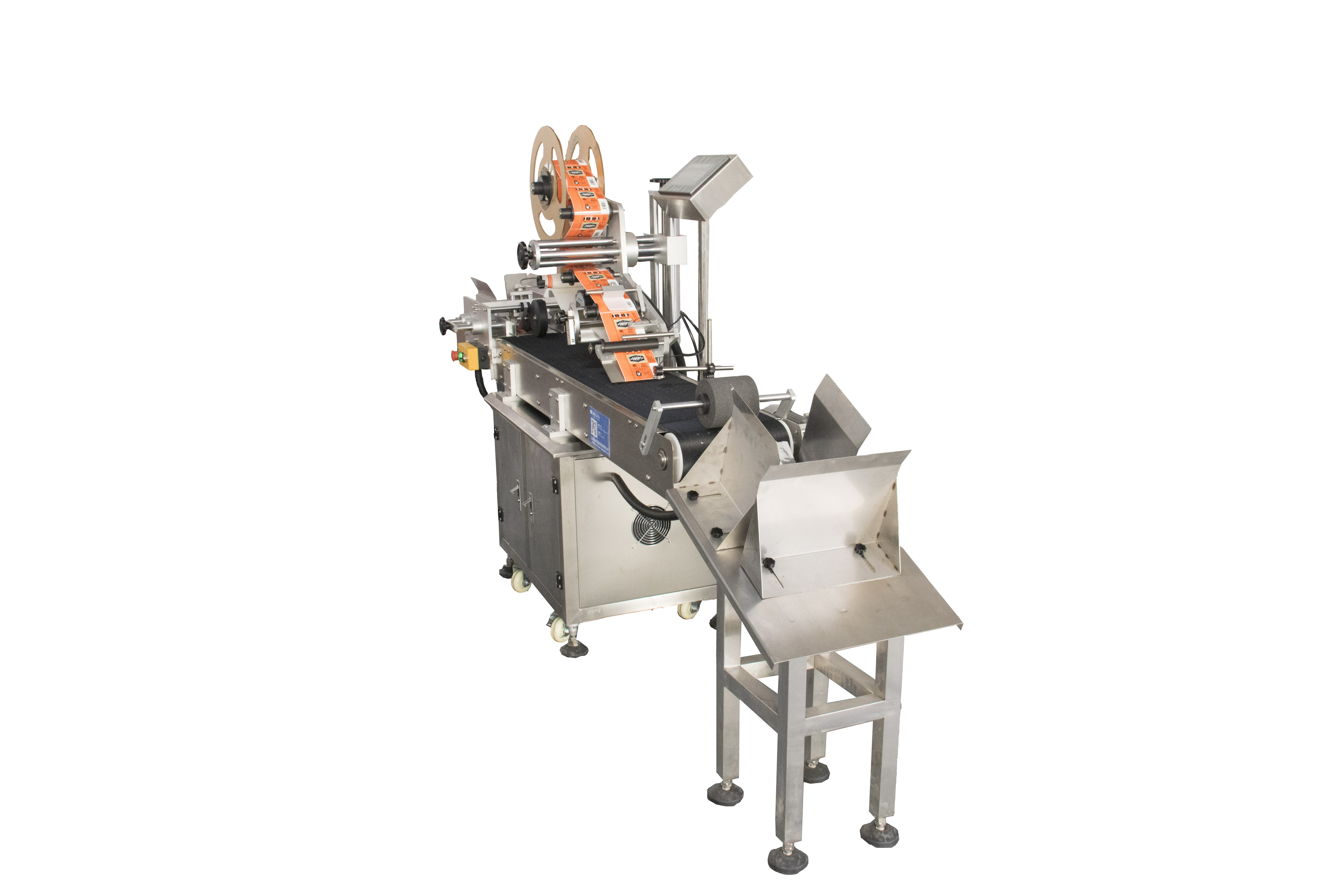 Flat Pouch Labeling Machine for Kenya