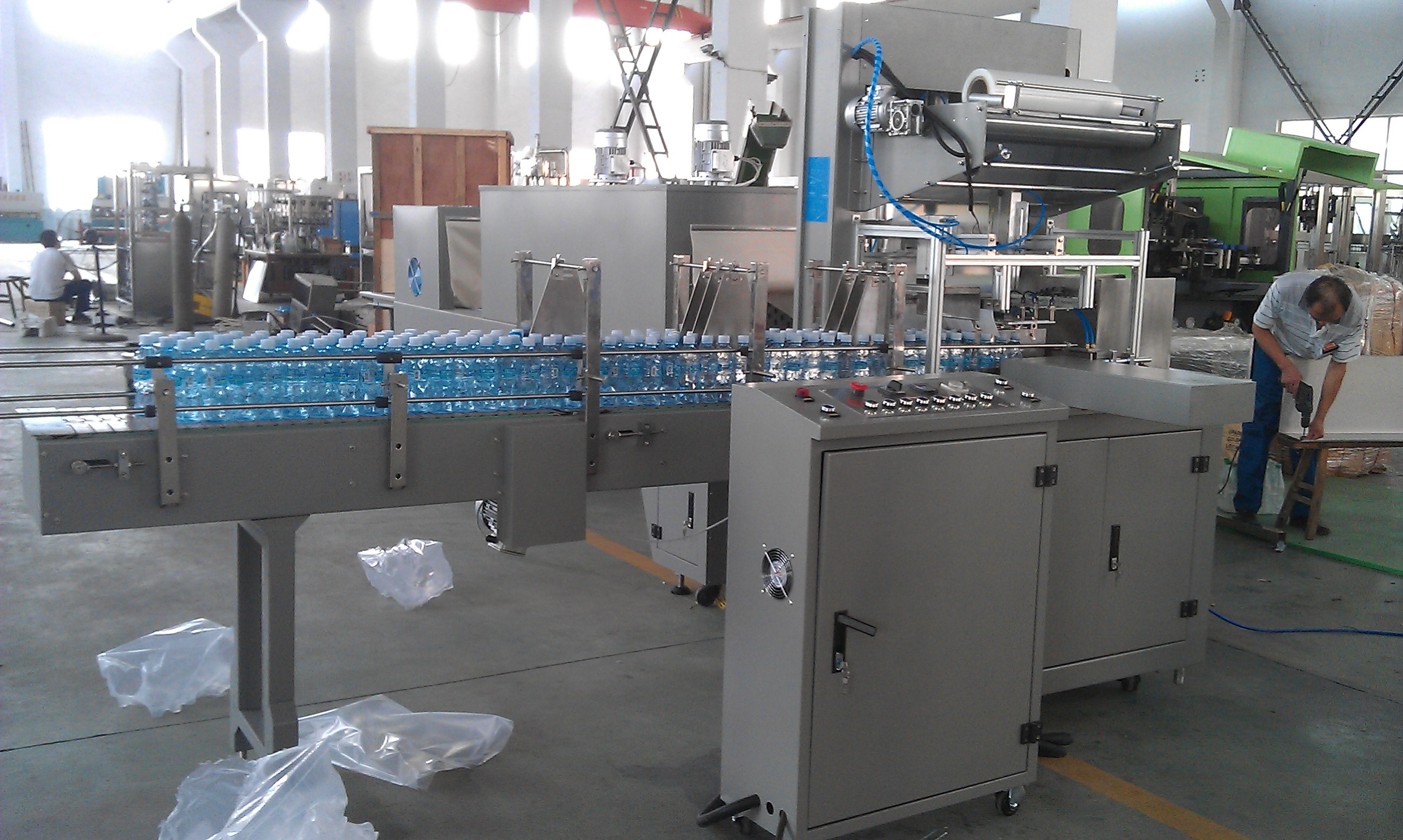 Label Sleeving Machine for Algeria Customer​