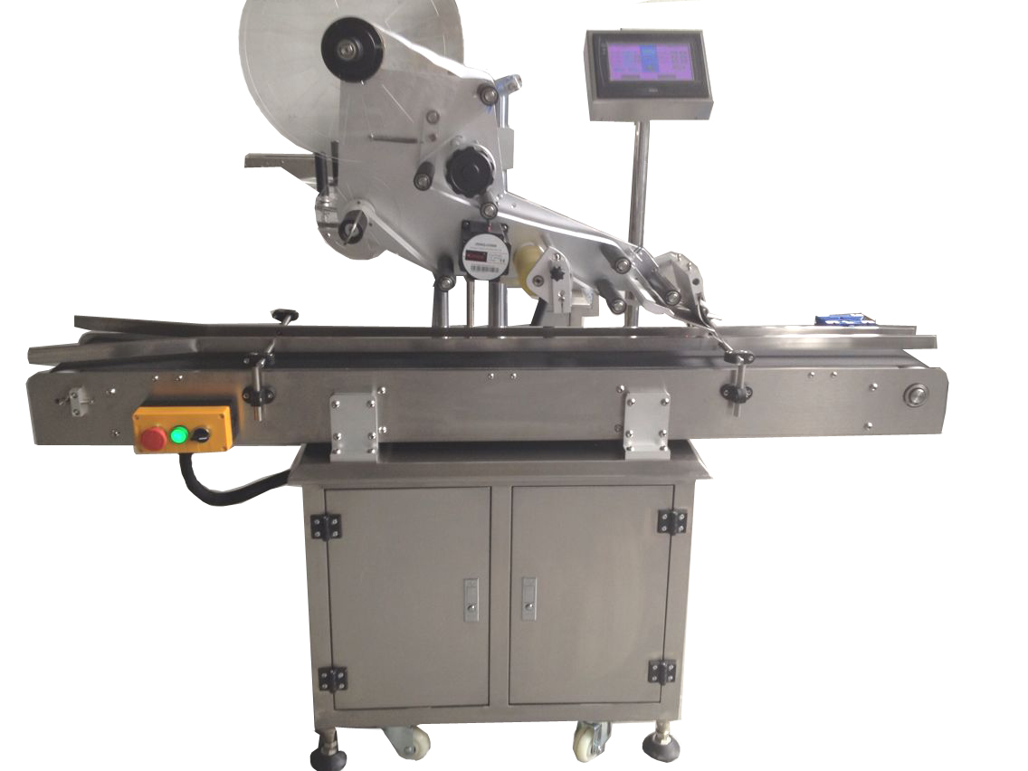 Germany customer order face mask labeling machine