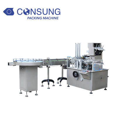 Automatic Box Packing Sealing Machine for Bottle