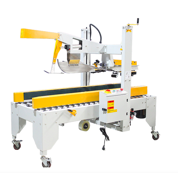 Case sealer with automatic flap closure